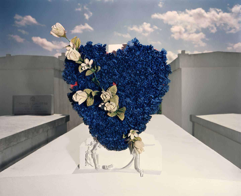 William Greiner, Blue Heart, Houma, Louisiana, 1989. Digital C-print. Morris Museum of Art, Augusta, Georgia. Gift of William Greiner.